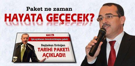 Sadullah Ergin'den 'demokratikleşme paketi' açıklaması