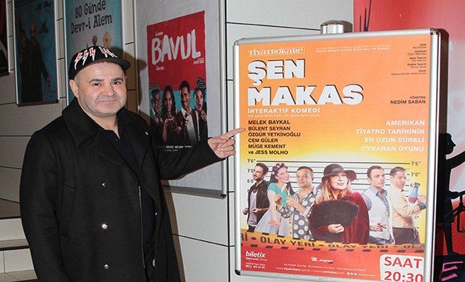 Şafak Sezer 20 yıl önce oynadığı 'Şen Makas'ı izledi