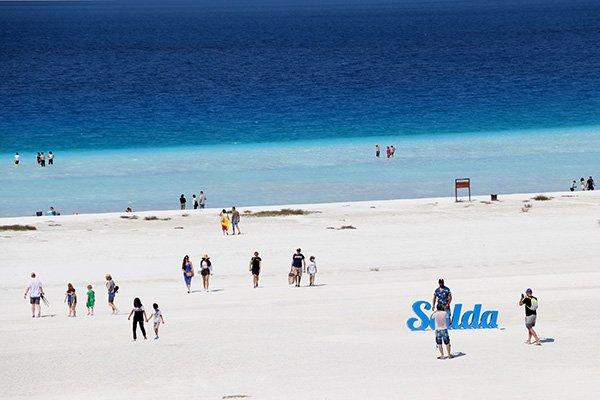 Salda Gölü yine cıvıl cıvıl
