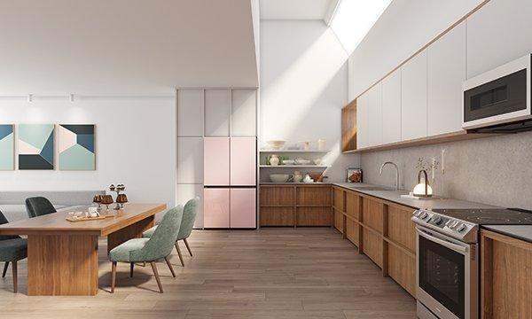 Samsung BESPOKE modern mutfaklarla buluşturuyor!