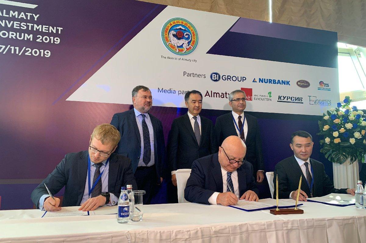 Sani Şener, Almatı Yatırım Forumu'nda konuştu
