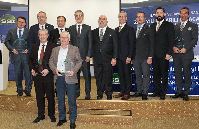 Savunma sektörünün ihracat yıldızları ödüllerini aldı!
