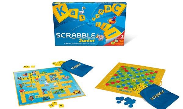 Scrabble Junior ile Eğlenceli Eğitim