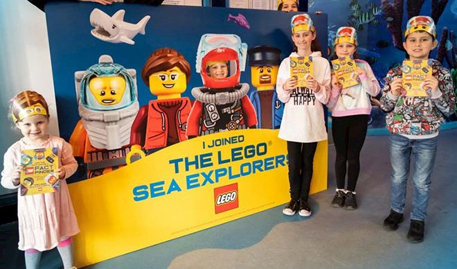 SEA LIFE, LEGOLAND® Discovery Center ve Forum İstanbul'da