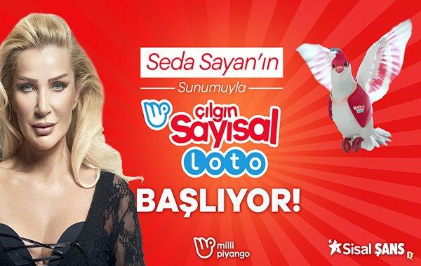 Seda Sayan'ın sunacağı Çılgın Sayısal Loto çekilişi TV8'de
