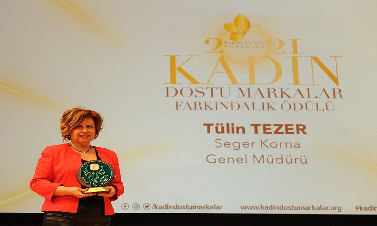 Seger'e 8 Mart Dünya Kadınlar Günü'nde 2 anlamlı ödül