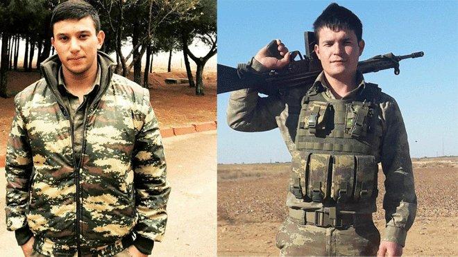 Sel sularına kapılan 2 asker şehit oldu
