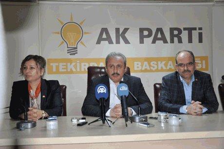 Şentop,CHP kendi adayını gösterememiştir.
