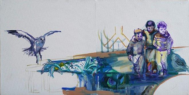 """Sevinç Çiftçi'nin """"Ters Yüz II"""" adlı sergisi"""