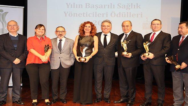 """Sezai Sevgin""""Yılın En Başarılı Sağlık Yöneticisi""""Seçildi"""