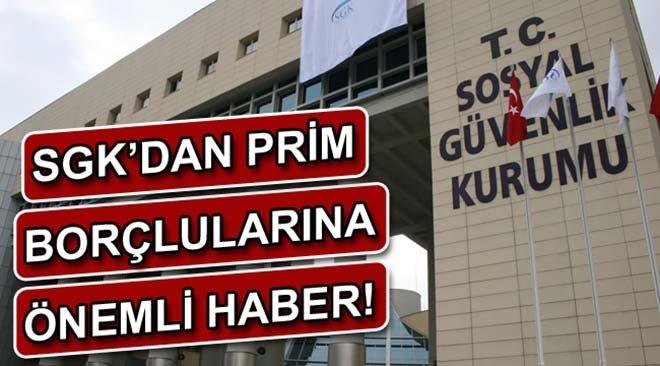 SGK'dan Prim Borçlularına Yeni Taksit İmkanı