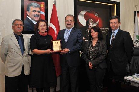 SGK Yöneticileri'nden Akgül'e Ziyaret