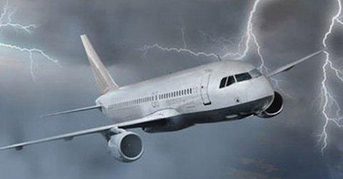 Şiddetli rüzgar uçuşlara engel oldu