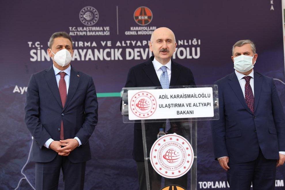 Sinop Ayancık Devlet Yolu Şantiyesi İnceleme(video)