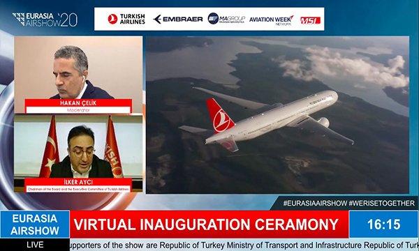 Sivil ve askeri havacılığın liderleri Eurasia Airshow'da buluştu