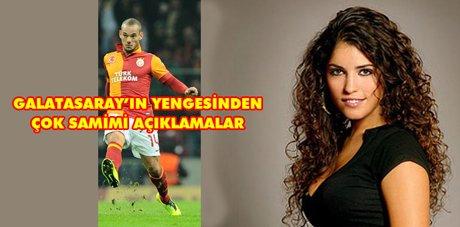 Sneijder'in eşinden samimi açıklamalar