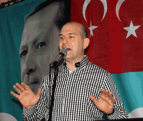 Soylu,Gülen'i matruşkaya benzetti.