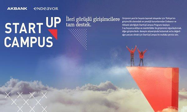 StartUpCampus Genç Girişimcileri Bekliyor…