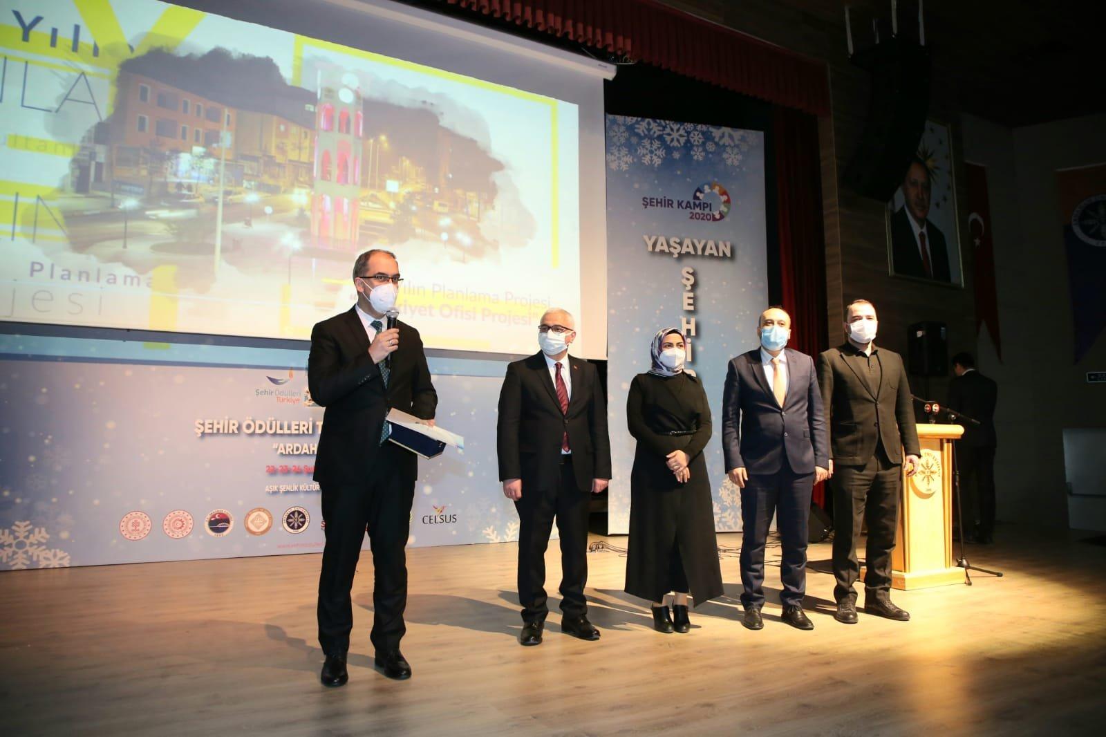 Sultanbeyli Belediyesi'ne 'Şehir Ödülleri'