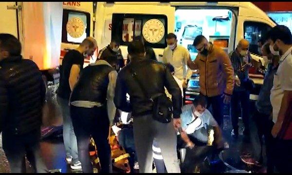 Sultanbeyli'de otomobil motosiklete çarptı: 1 ağır yaralı