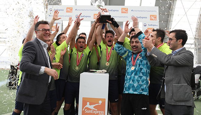SunExpress CUP Internal Futbol Turnuvası