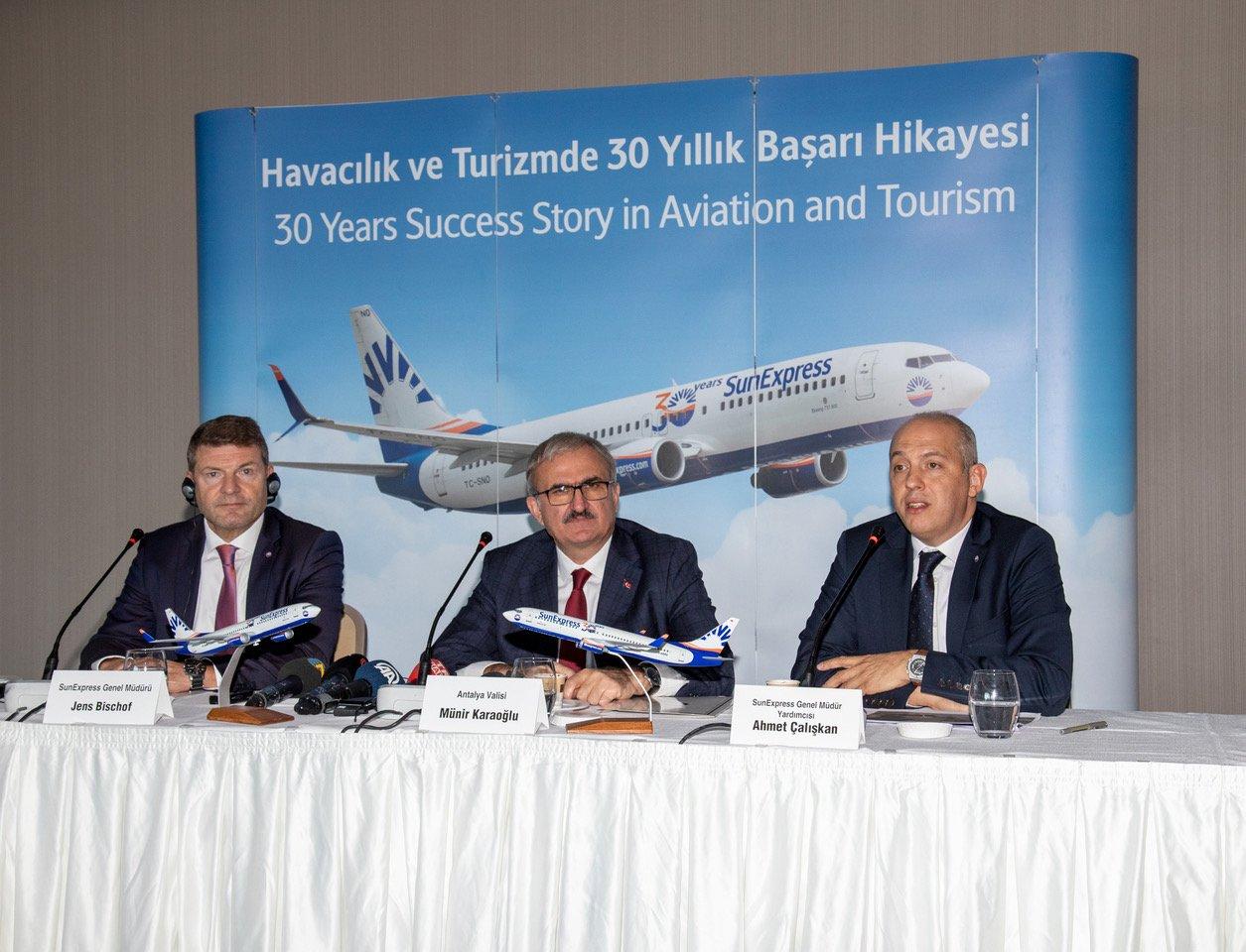 SunExpress Havacılık ve Turizmde 30 yıllık başarı öyküsü