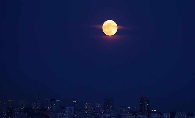 Süper Ay, yarın akşama kadar izlenebilecek