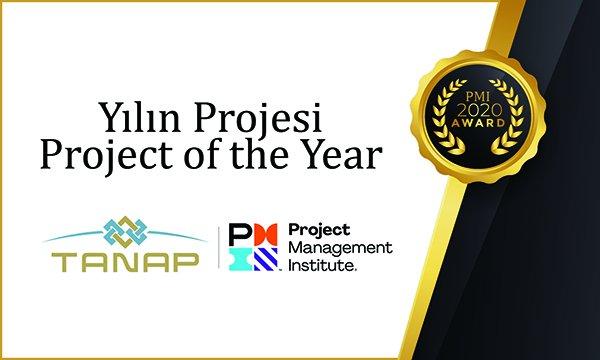 """TANAP'a Uluslararası """"Yılın Projesi"""" Ödülü!"""