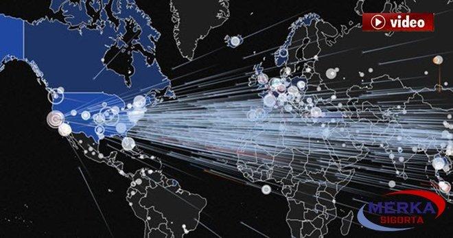 Tarihin en büyük DDoS saldırısı gerçekleşti!video
