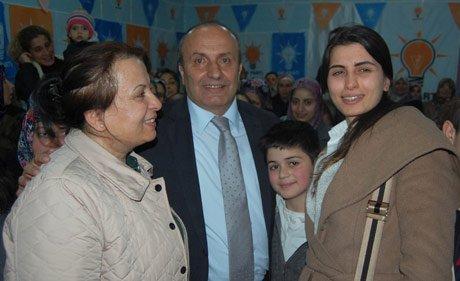 Taşköprü  AK Parti Kadın Kolları seçim ve bürosu açıldı.