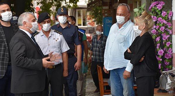 TEKİRDAĞ Valisi Yıldırım'dan maske takanlara teşekkür(video)