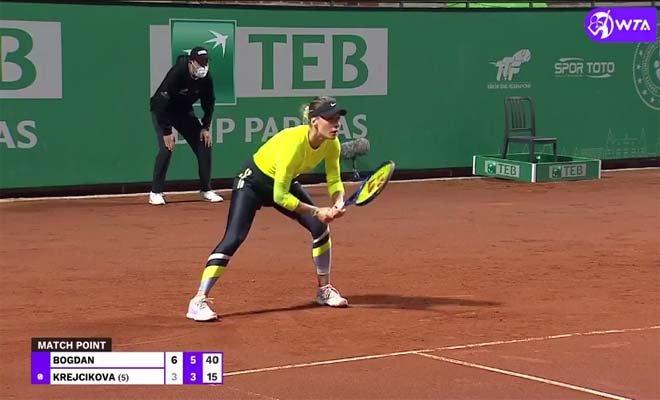 Tennis Championship İstanbul'da teklerde ikinci tur#video