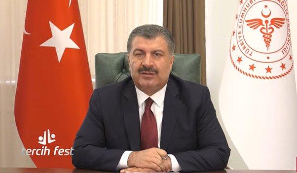 TercihFest'in de Sağlık Bakanı Fahrettin Koca gençlere seslendi