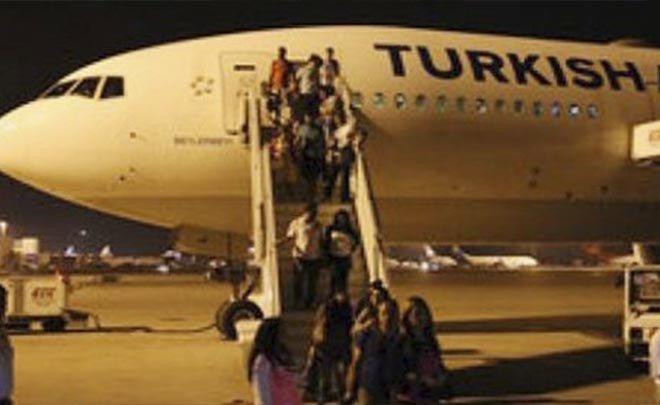 THY Belgrad'da yolcuları mağdur etti!