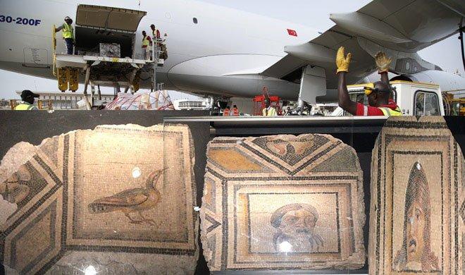 THY Çingene Kızı Mozaiği'nin parçalarını getirecek!