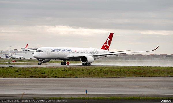 THY, ilk Airbus A350 XWB siparişini teslim aldı
