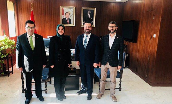 THY Kuveyt Müdürü Baltu'dan Büyükelçi Koytak'a ziyaret