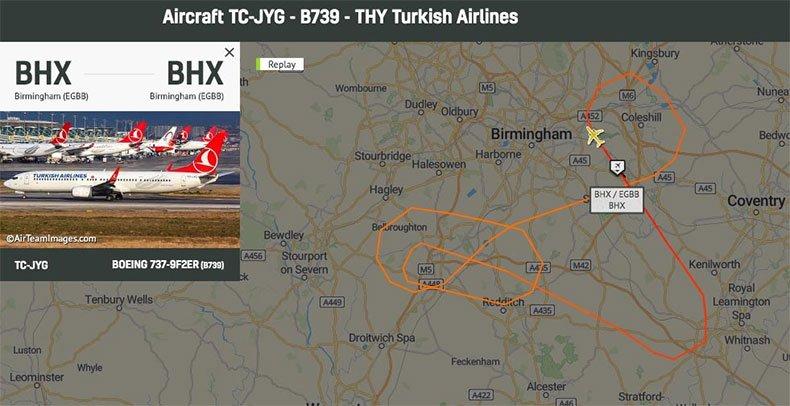 THY uçağı kalkışta kuyruk sürttü!