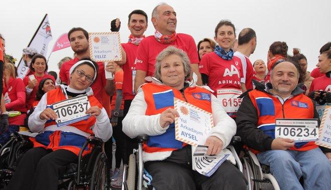 TOFD, Adım Adım 37. İstanbul Maratonu'nda