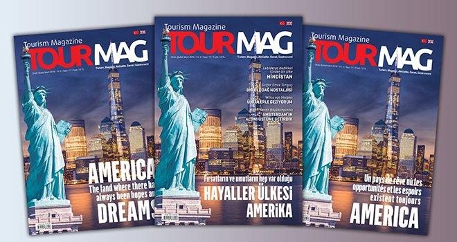 TOURMAG Turizm Dergisi'nde Amerika!