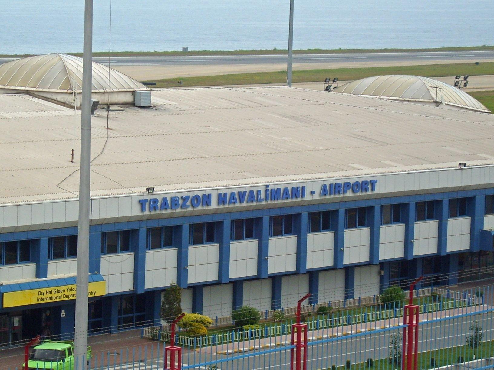 Trabzon Havalimanı Parmak Isırttı