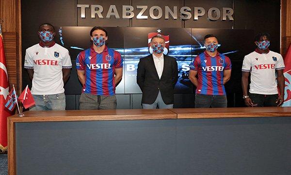 Trabzonspor'da yeni transferler imzaladı