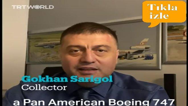 TRT World Gökhan Sarıgöl ile röportaj yaptı.