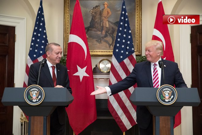 """Trump: """"Türkiye'yi PKK'a karşı destekliyoruz"""" video"""