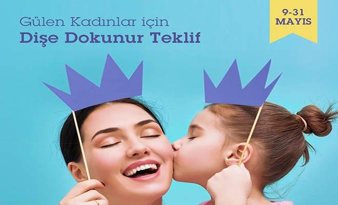Tüm Türkiye'de sadece kadınlara özel diş tedavi hizmeti