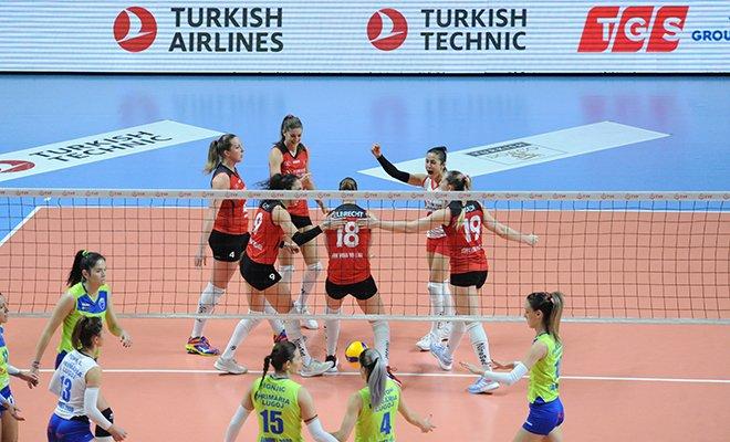 video Türk Hava Yolları, Namağlup Çeyrek Finalde!