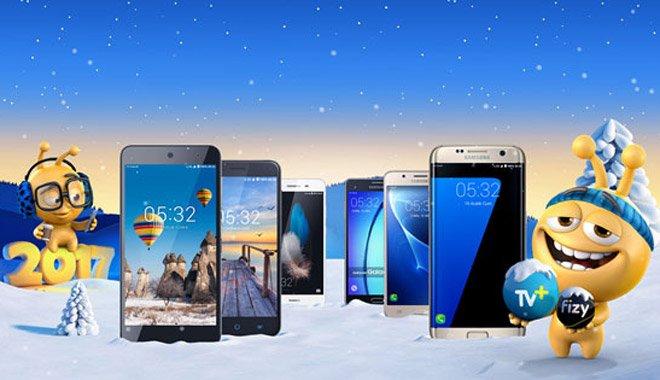 Turkcell'den yeni yıla özel akıllı telefonlar