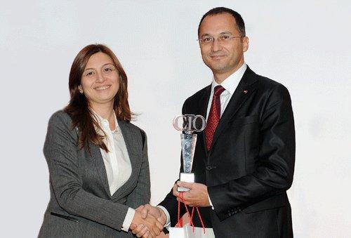 Türkiye Finans, İkinci Kez Yılın CIO'su Ödülü'nü Aldı