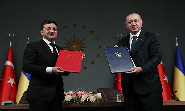 Türkiye ile Ukrayna arasında 'Askeri Çerçeve Anlaşması'