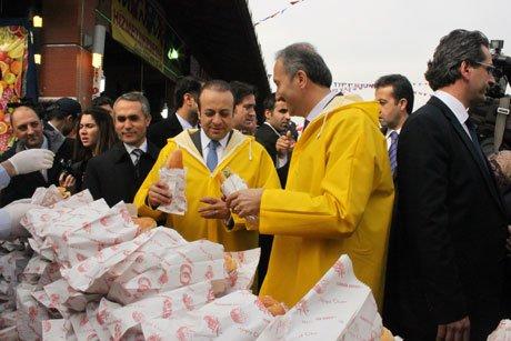 Türkiye'nin ilk hijyenik balık pazarı